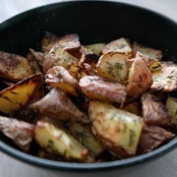 Knoflook aardappeltjes