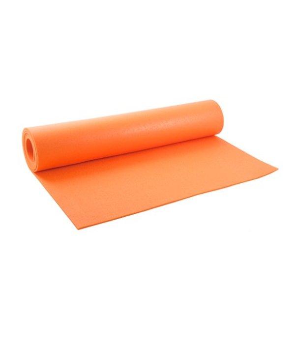 Yogamat studio premium extra lang oranje