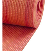 Yogamat sticky extra dik oranje/rood