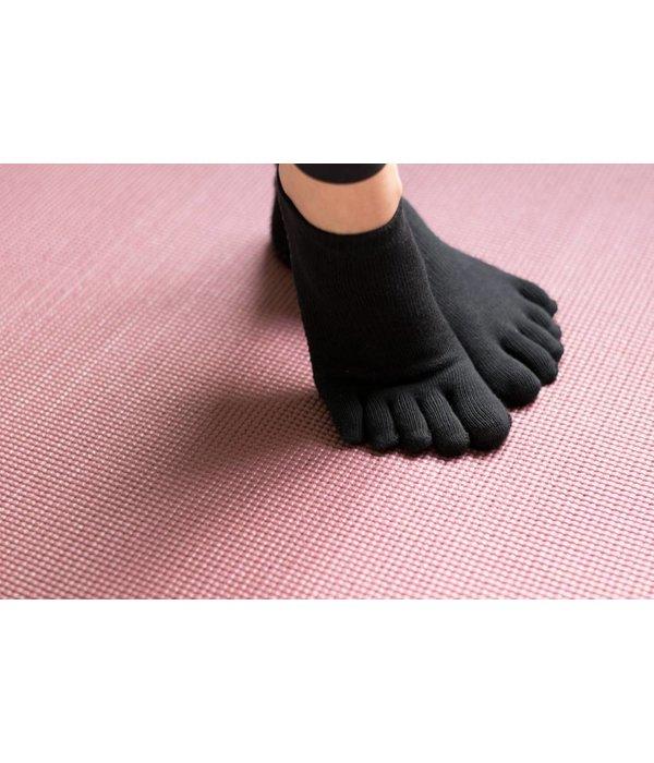 Yoga sokken extra grip zwart