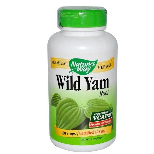 Nature's Way Wild Yam, Root, 180 Veggie Kapseln