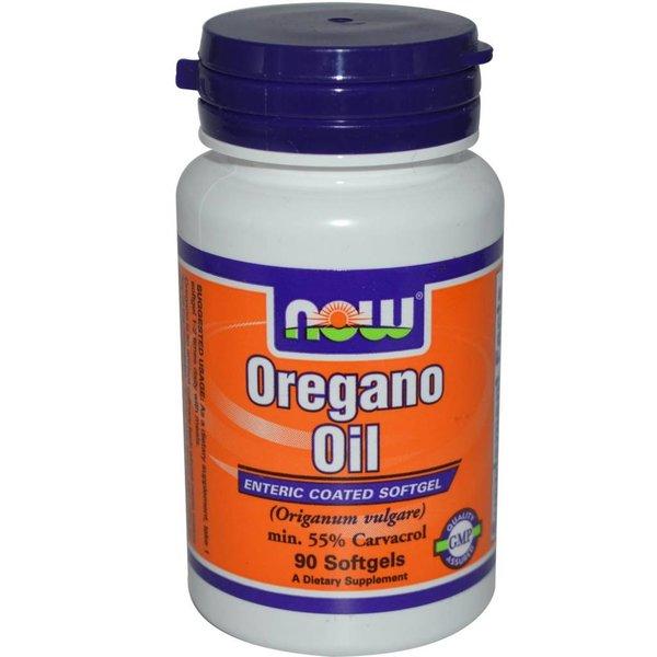 Now Foods Oregano Oil, 90 Softgel Kapseln: Schutz gegen Mikroben und Fraßfeinde