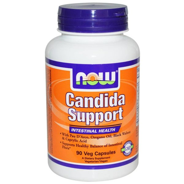 Now Foods Candida Support, 90 Veggie Kapseln