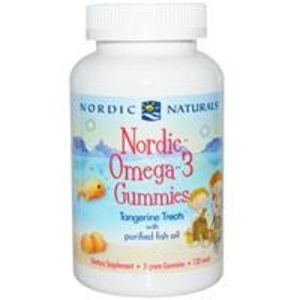 Nordic Naturals Nordic Omega-3 Gummibärchen, Manderine, 120 Stück