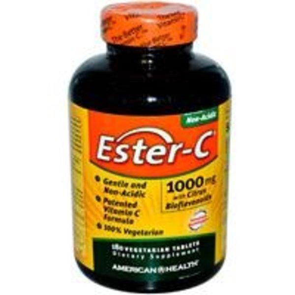 Ester C 1000mg w/ Citrus Bioflavanoids 180 Vegitabs