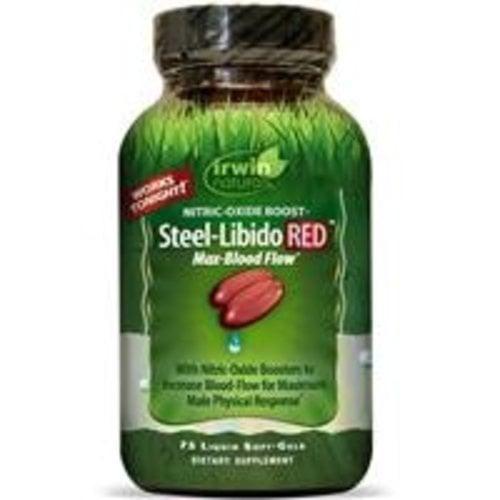 Irwin Naturals Steel-Libido Rot, 75 Flüssig-Soft-Gels