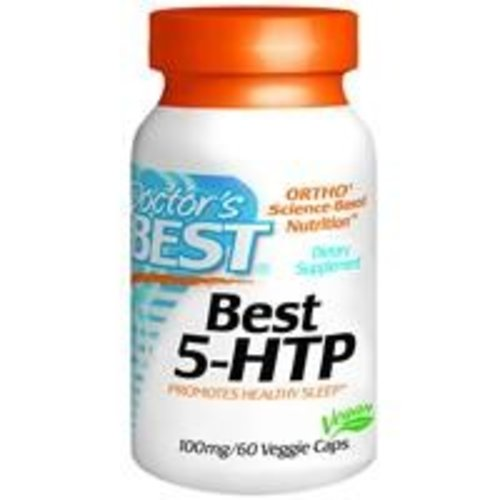 Doctor's Best 5-HTP - Serotonin Booster, 100 mg, 60 Kapseln