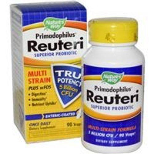 Nature's Way Primadophilus Reuteri , Superior Probiotische, 90 Vegatische Kapseln