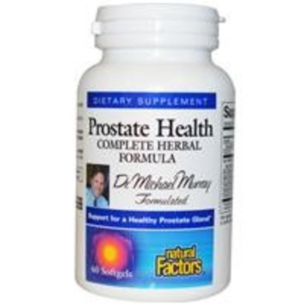 Natural Factors Prostatagesundheit, Komplett Herbal Formula, 60 Kapseln von Dr. Michael Murray