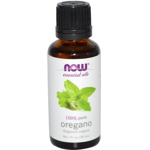 Now Foods Ätherisches Öl, Oregano, 1 Flüssigunze (30 ml)