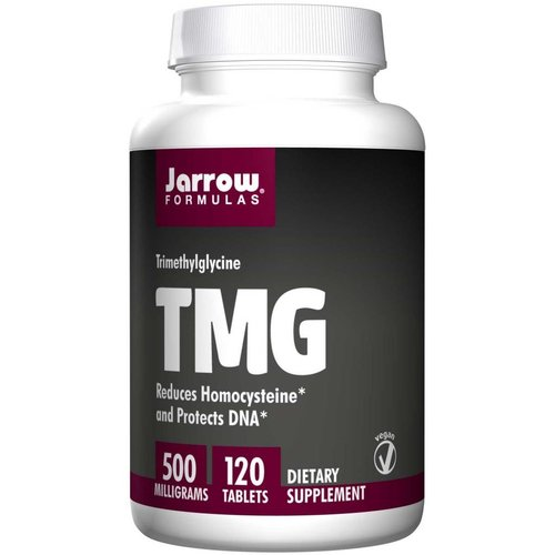 Jarrow TMG, Trimethylglycin, 500 mg, 120 Tabletten