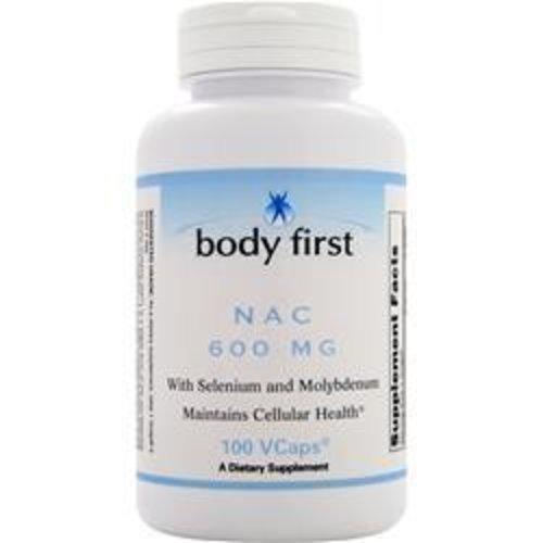 BODY FIRST (AllstarHealth) NAC (600 mg) ST NAC (600mg) 100 Kapseln