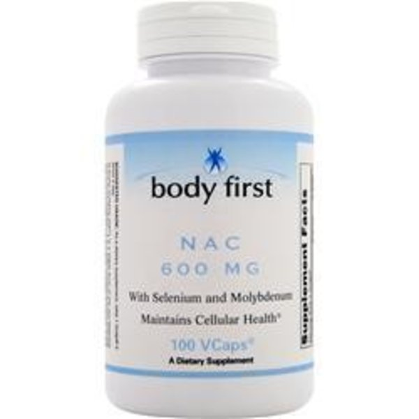 BODY FIRST (AllstarHealth) N-Acestyl Cystein: NAC (600 mg) ST NAC (600mg) 100 Kapseln
