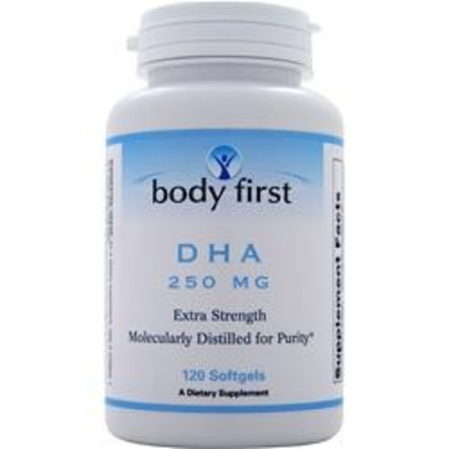 BODY FIRST (AllstarHealth) DHA (250mg) 120 Softgels