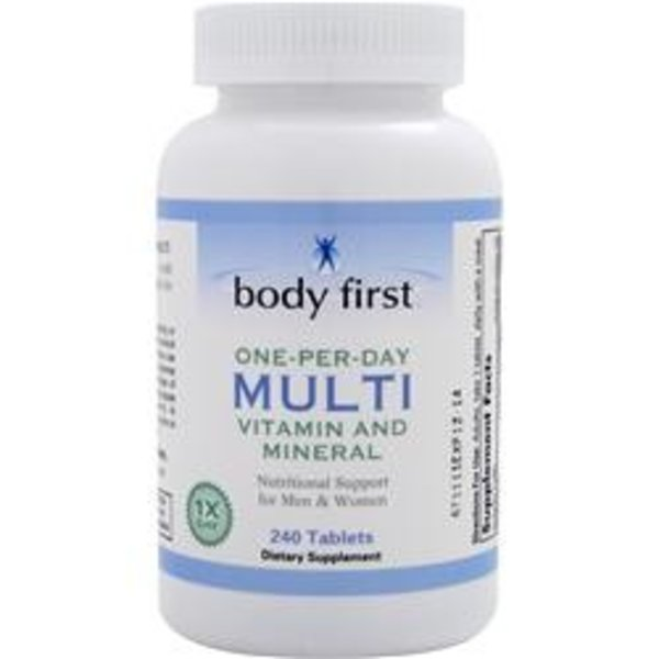 BODY FIRST (AllstarHealth) Eine-pro-Tag-Multi - Vitamin und Mineral 50+ Komplett 240 Tabletten