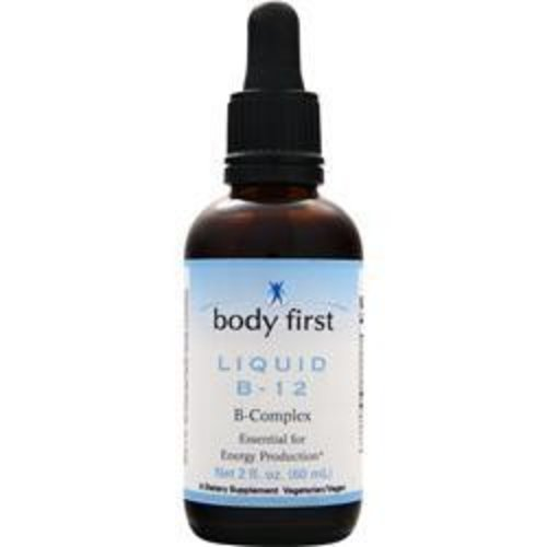BODY FIRST (AllstarHealth) Vitamin B-12 Liquid 2 fl.OZ (60 ml)
