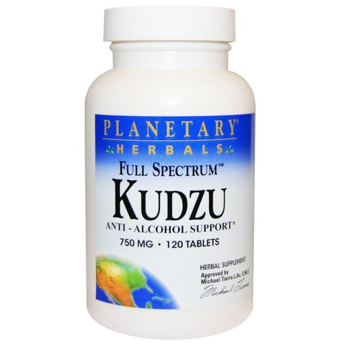 Planetary Herbals Full Spectrum Kudzu, 750 mg, 120 Tab.: Anti-Alkohol- & Nikotin-Support