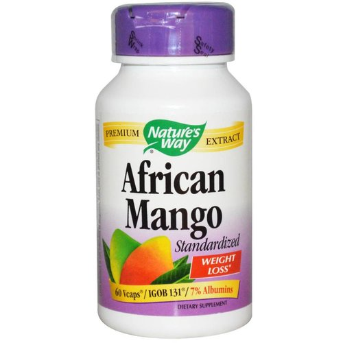 Nature's Way Afrikanische Mango, standardisiert, 60 Vcaps