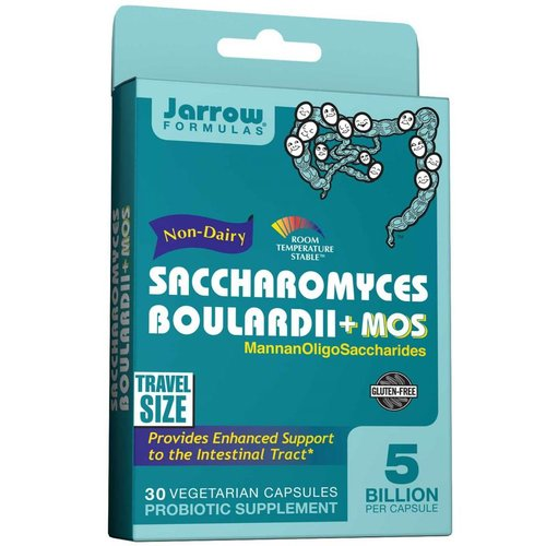 Jarrow Saccharomyces boulardii + MOS, 30 Veggie Kapseln gegen das Reizdarmsyndrom