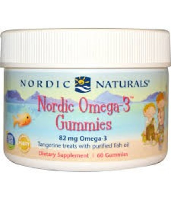 nordic naturals nordic omega 3 gummib rchen manderine 60. Black Bedroom Furniture Sets. Home Design Ideas