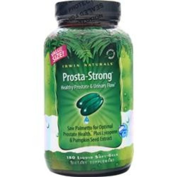 Irwin Naturals Prosta-Strong, 180 Liquid Softgel Kapseln Irwin Naturals: XXL Sparpaket