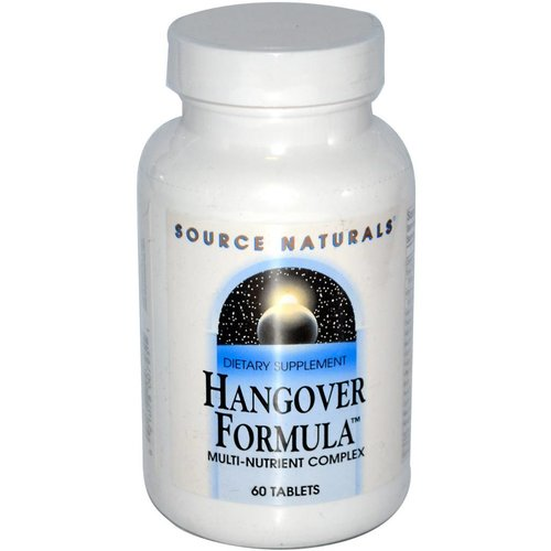 Source Naturals Kater-Formel, Multi-Nährstoff-Komplex, 60 Tabletten: Hangover Support