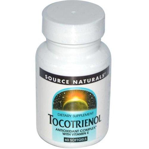 Source Naturals Tocotrienol, 60 Softgels: Antioxidant-Komplex mit Vitamin E