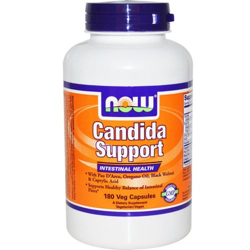 Now Foods Candida Support, 180 Veggie Kapseln