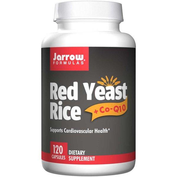Jarrow Roter Reis + Co-Q10, 120 Kapseln: Unterstützt kardiovaskuläre Gesundheit