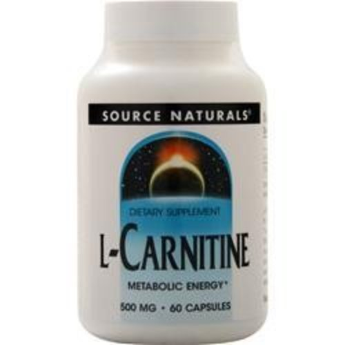 Source Naturals Source Naturals L-Carnitin (500 mg) 60 Kapseln