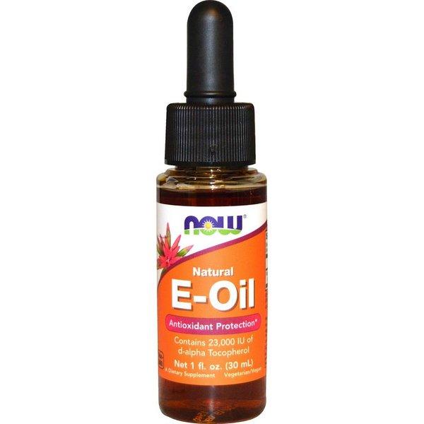 Now Foods Natürliches E-Öl, antioxidativer Schutz, (1 fl oz 30 ml): Enthält 23.000 IE D-alpha-Tocopherol