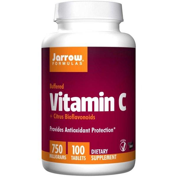Jarrow Vitamin C, 750 mg, 100 Tabletten: Bietet antioxidativen Schutz (Aufnahmeverzögert & Citrus-Bioflavonoide)
