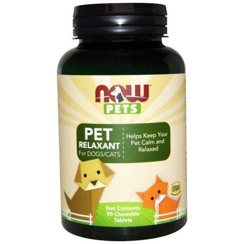 Now Foods Natürliche Entspannung für Ihr Haustier: Relaxant für Hunde / Katzen, 90 Kautabletten