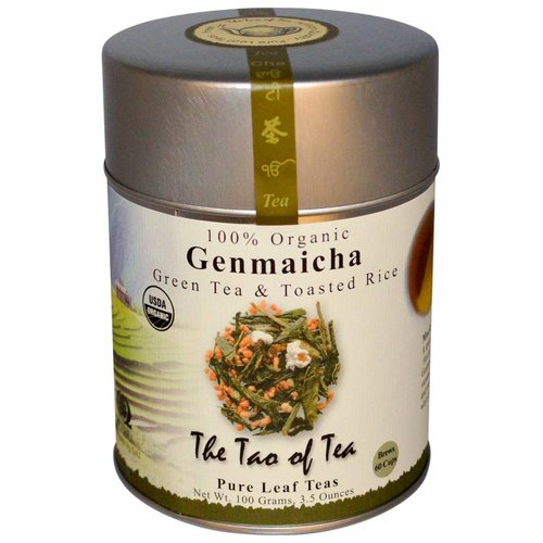 The Tao of Tea Organischer Genmaicha, grüner Tee u. gerösteter Reis, 3.5 Unze (100 g)