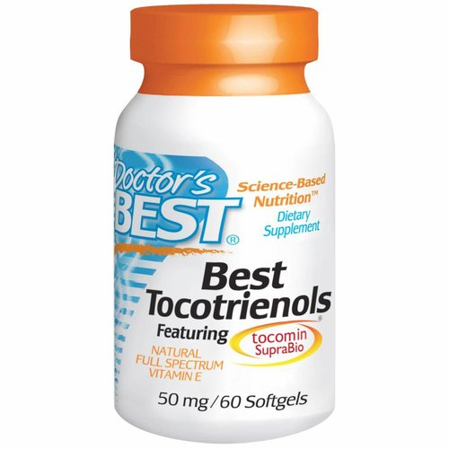 Doctor's Best Tocotrienole, 50 mg, 60 Softgels