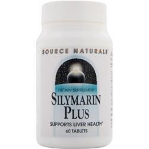 Source Naturals Silymarin Plus, 60 Tableten: mit Vitamin C&E, Inositol & Cholin