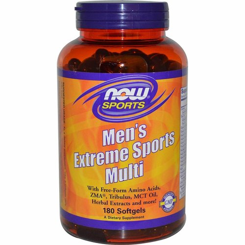Now Foods Multi-Extremsport für Männer (180 Softgels)