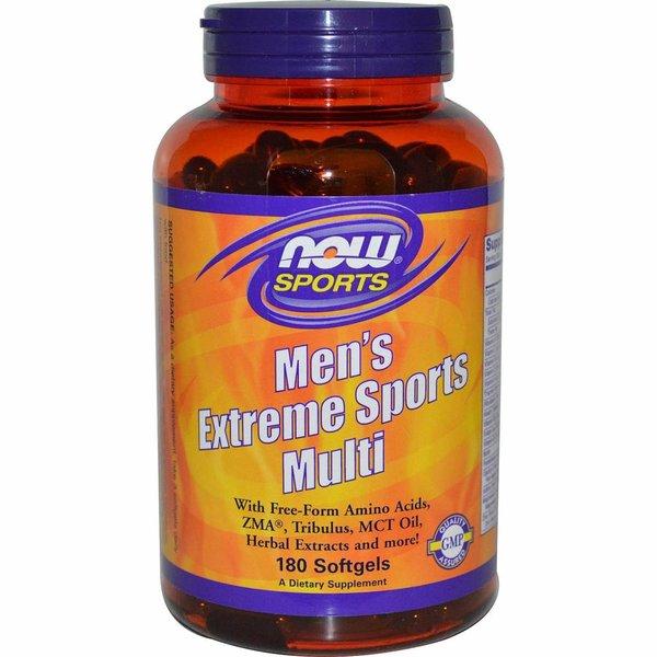Now Foods Multi-Extremsport für Männer (180 Softgels) - Vitalstoffe für aktive Männer