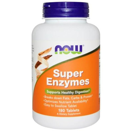 Now Foods Super-Enzyme, 180 Tabletten: Gesund Verdauen