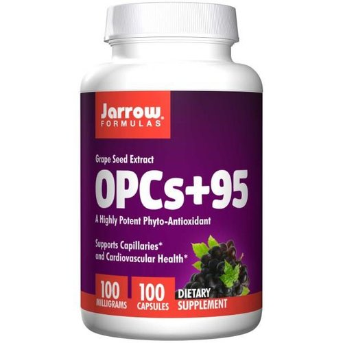 Jarrow OPCs + 95, Traubenkernextrakt, 100 mg, 100 Kapseln