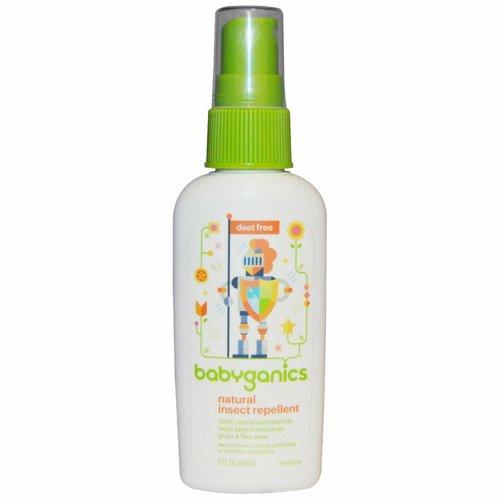 babyganics Natürliches Insekten-Abwehrmittel, 59 ml: für Babys und Kinder ab dem 6. Monat