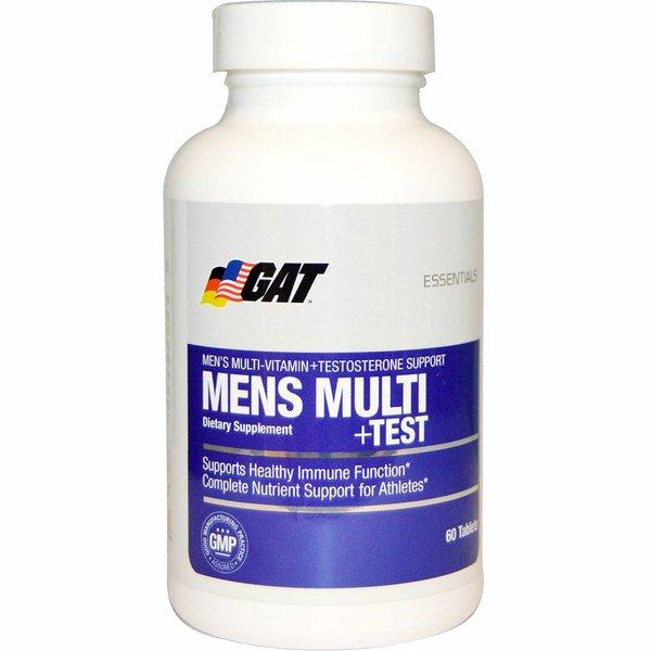 GAT Multi-Vitamin + Testosteron, 60 Tabletten: speziell für den Mann