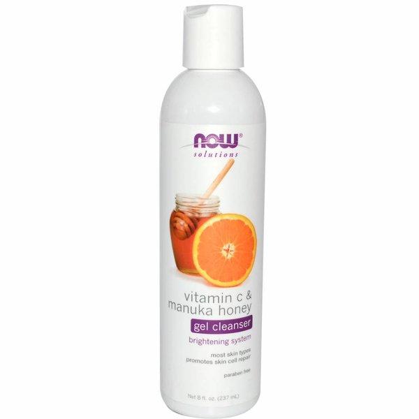 Now Foods Vitamin C & Manuka-Honig Gelseife (237 ml) - Fördert gesunde Hautzellen