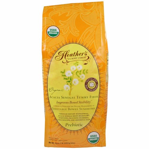 Heather's Tummy Care Bio Acacia Senegal Ballaststoffe für den Bauch, 453 g