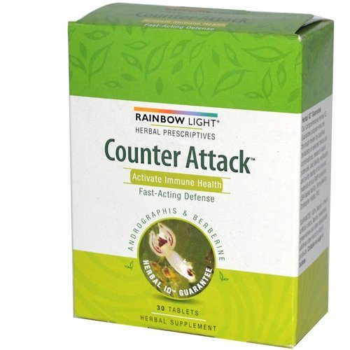 Rainbow Light Counter Attack: Immunaktivierung (30 Tabletten)