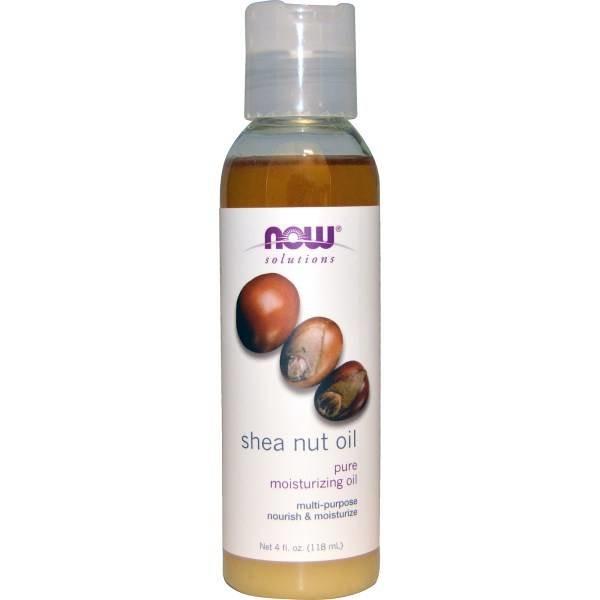 Now Foods Shea Nut-Öl, 4 Unzen (118 ml): Reines Feuchtigkeitsöl