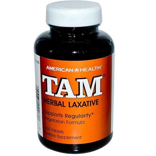American Health TAM, Kräuter-Abführmittel, 250 Tabletten