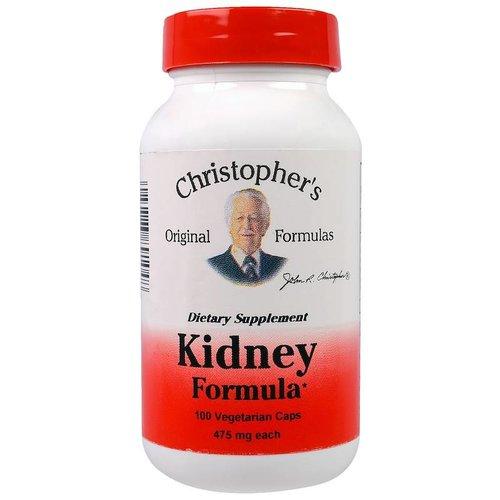Christopher's Original Formulas Nieren Formel / Kidney Formula, 475 mg Each, 100 Veggie Caps