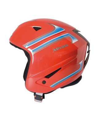 Mivida Ski helmet Galaxy red