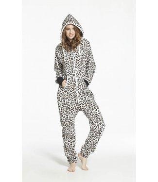 Onesie Leopard Print Jumpsuit